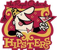 Derek Yaniger Royal Hipsters Sticker Image
