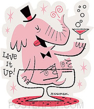 Derek Yaniger Live It Up Sticker Image