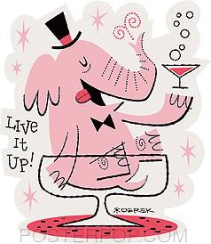 Derek Yaniger Live It Up Sticker Image