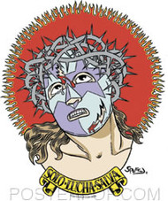 Firehouse Solo Lucha Salva Sticker Image
