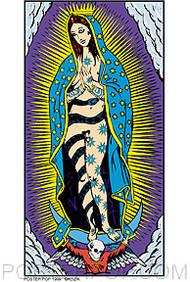 Kozik Madonna Sticker Image