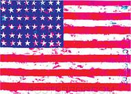 Kozik Flag Sticker Image