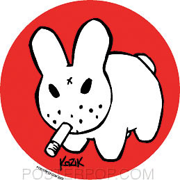 Kozik Osaka Bunny Sticker Image