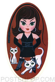 Lisa Petrucci Mistress Katrina Sticker