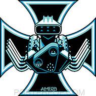 Almera Bad Ass Sticker Image