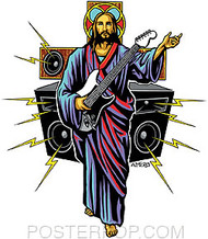 Almera Guitar Hero Sticker Image