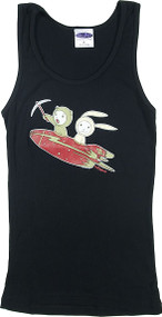 Tara McPherson Rocket Woman's Baby Doll Tee and Boy Beater Tank