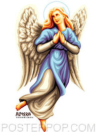 Almera Angel Beth Sticker Image