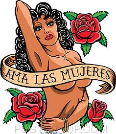 Almera Ama Las Mujeres Sticker Image