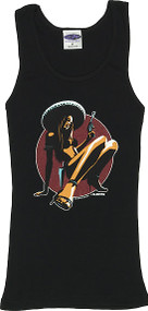 Almera Chica Peligrosa Woman's Ribbed Boy Beater Tank Image
