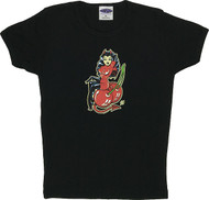 Vince Ray Cherry Bomb Woman's Baby Doll T-Shirt