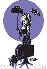 Pigors Umbra ella Sticker Image
