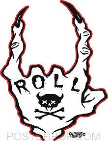 Pigors Roll Sticker Image