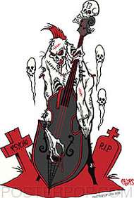 Pigors Psycho Bass Sticker Image