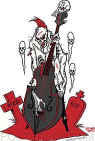 Pigors Psycho Bass Sticker Image