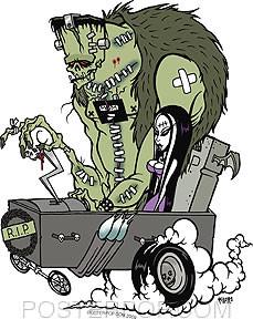 Pigors Monster Koach Sticker Image