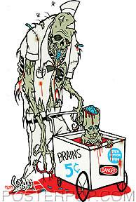Pigors Sick Humour Man Sticker Image