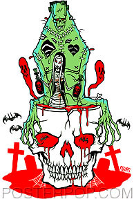 Pigors Blood Bath Sticker Image
