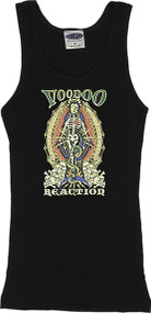 Vince Ray Voodoo Reaction Madonna Skeleton Boy Beater Tank Top