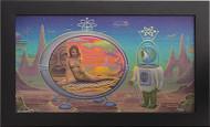 Aaron Marshall Time Machine Fine Giclee Art Print on Canvas
