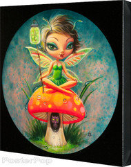 Aaron Marshall - Green Pixie Gallery Wrapped Canvas Fine Art Print Image