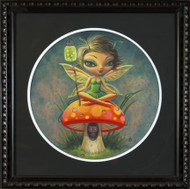 Aaron Marshall - Green Pixie Fine Art Print