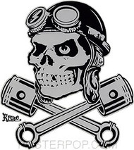 Kruse Ace Bomber Sticker Image