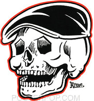 Kruse Rodder Skull Sticker Image