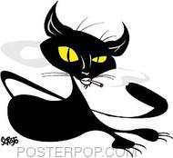 Scrojo Kool Cat Sticker Image