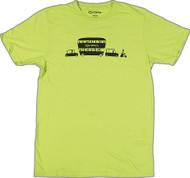 Shag Caravan T Shirt Lime