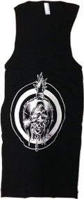Dirty Donny White Shrunken Head Tank Top