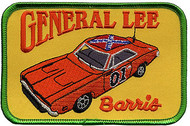 Barris General Lee Patch Image