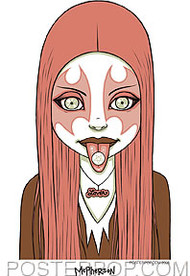 Tara McPherson Pink Metal Sticker Image