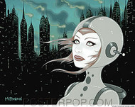 Tara McPherson Why Sticker Image