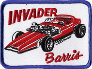 Barris Invader Patch Image