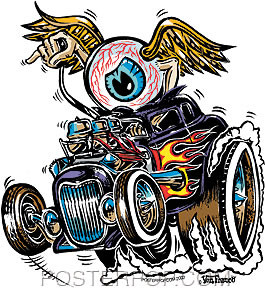 Von Franco Eye Gone Wild Sticker Image