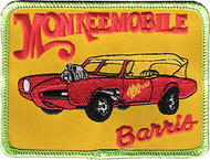 Barris Monkee Mobile Patch Image