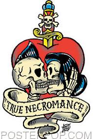 Vince Ray True Necromance Sticker Image