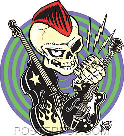 Vince Ray Rocker Sticker Image