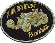 Barris Twin Bathtubs Patch Image