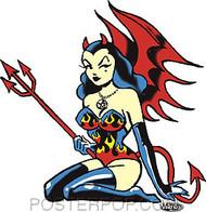 Vince Ray Devilette Sticker Image