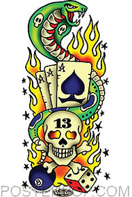 Vince Ray Tattoo 13 Sticker Image