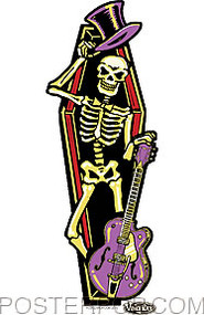 Vince Ray Coffin Sticker Image