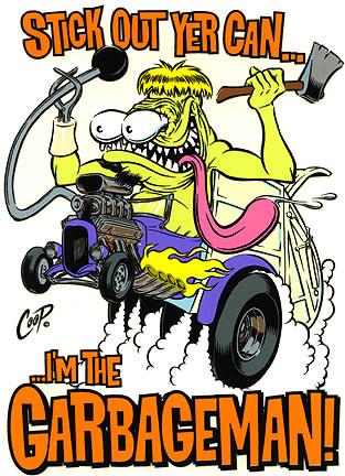 Coop Garbage Man Sticker Image