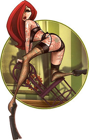 Tyson McAdoo Seductress Sticker Image
