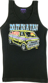 Dirty Donny Do It In a Van Woman's Ribbed Boy Beater Tank Image