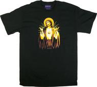 Almera Jesus Gold T Shirt Image