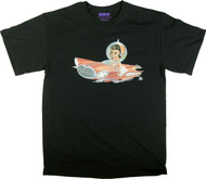 Aaron Marshall Flying Car Girl T Shirt Image