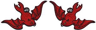 Dan Collins Devil Bat (2) Patch Set Image