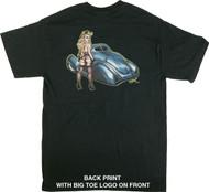 BigToe Bare Elegance T-Shirt Image